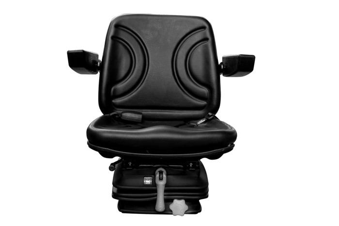 Fotel siedzenie amortyzowane PCV z pasem