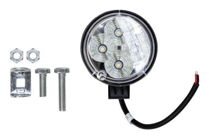 Lampa Robocza okrągła 4 LED 12W okrągła 1012