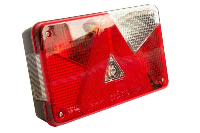 Lampa tylna zespolona do przyczep Aspöck Multipoint V prawa