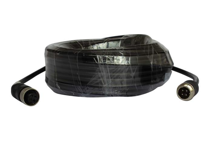 Zestaw 4 kamera cofania z kablami Monitor LCD 9